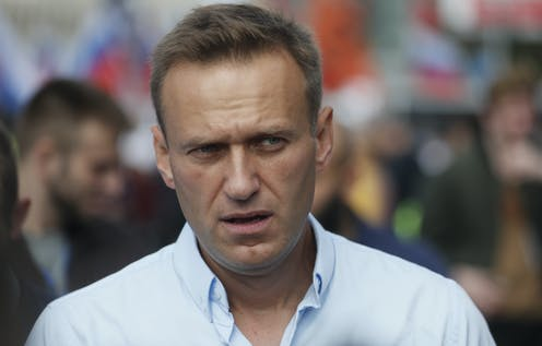 Photo of Russian opposition leader Alexei Navalny.