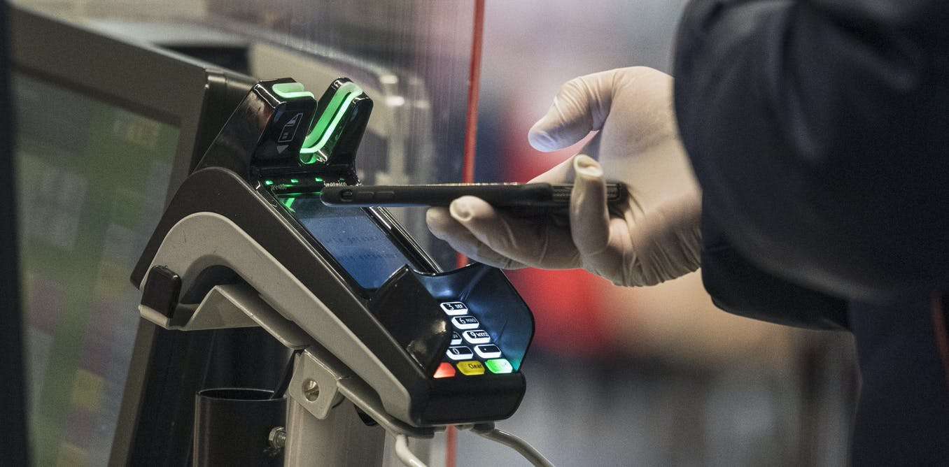 Cashless payment is booming, thanks to coronavirus. So is financial surveillance