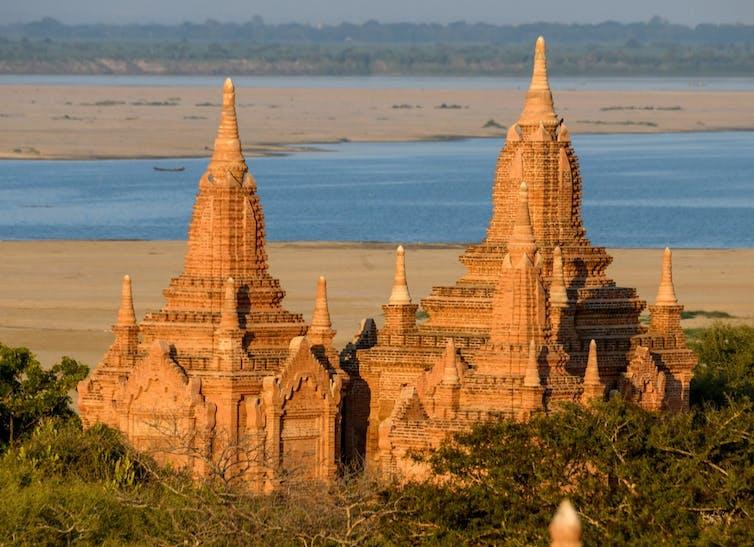 Les temples bouddhistes de Bagan (Birmanie)