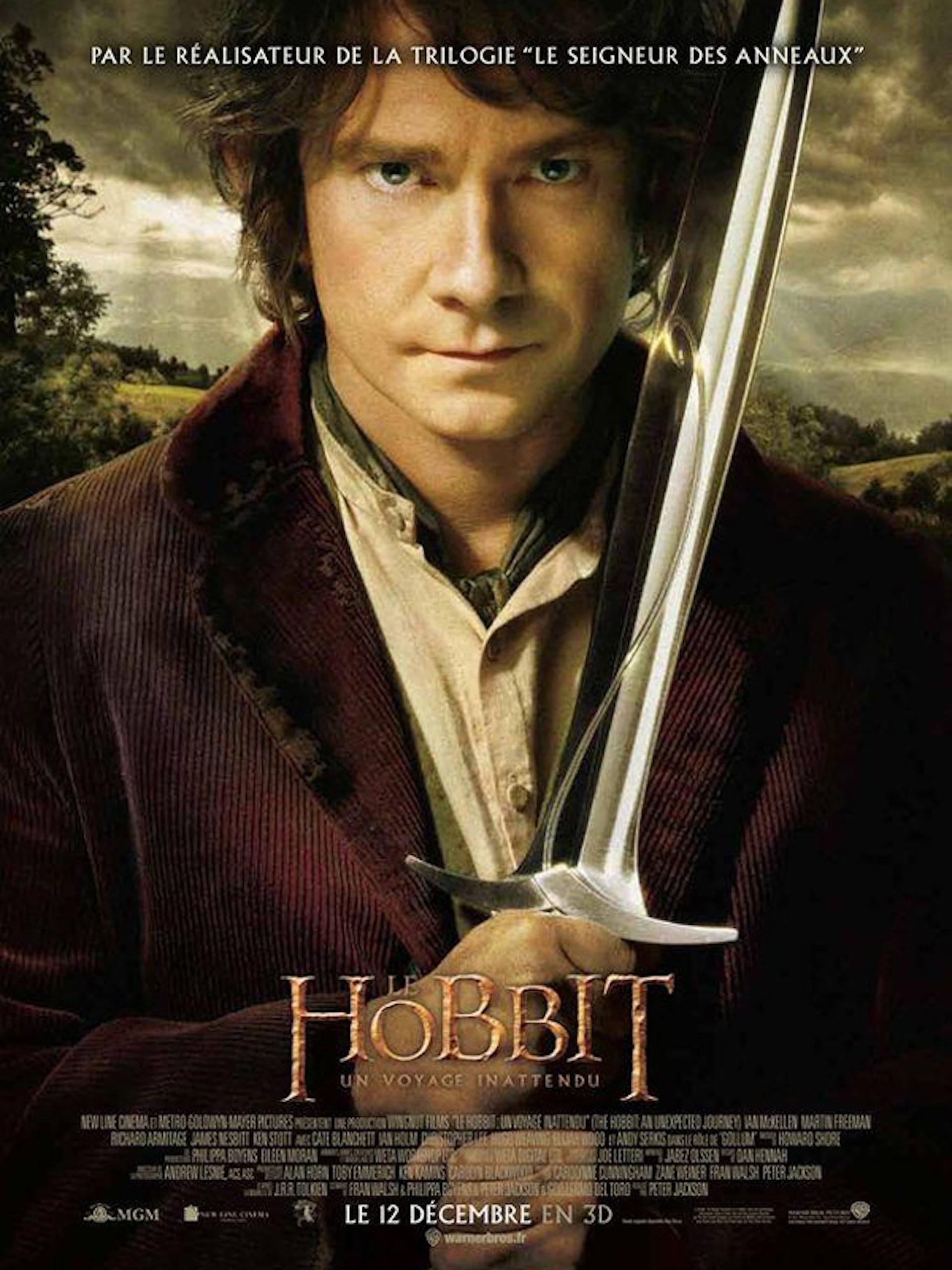 Film The Hobbit de Peter Jackson, 2012