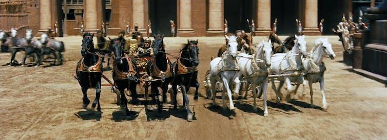 Scène de Ben Hur