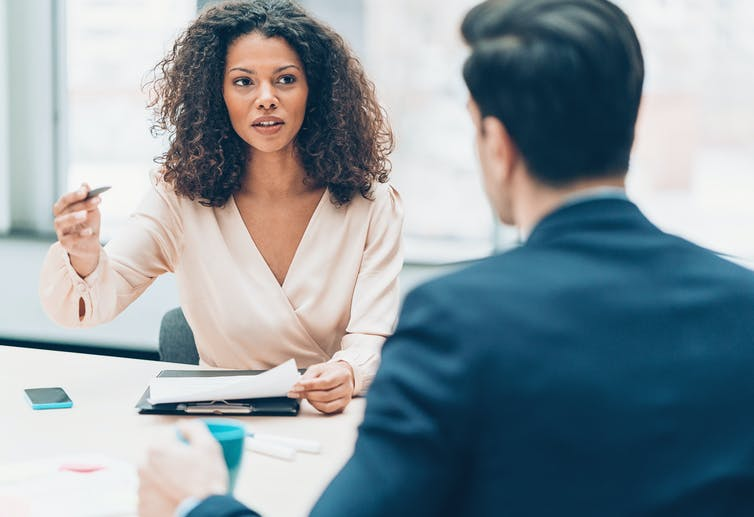 Why female bosses get different reactions than men when they criticize employees