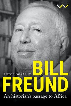 A book cover with a picture of Bill.