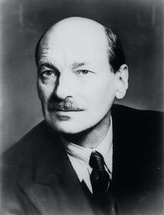 Clement Attlee Labour prime minister 1945