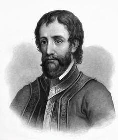 Portrait of explorer Hernando de Soto.