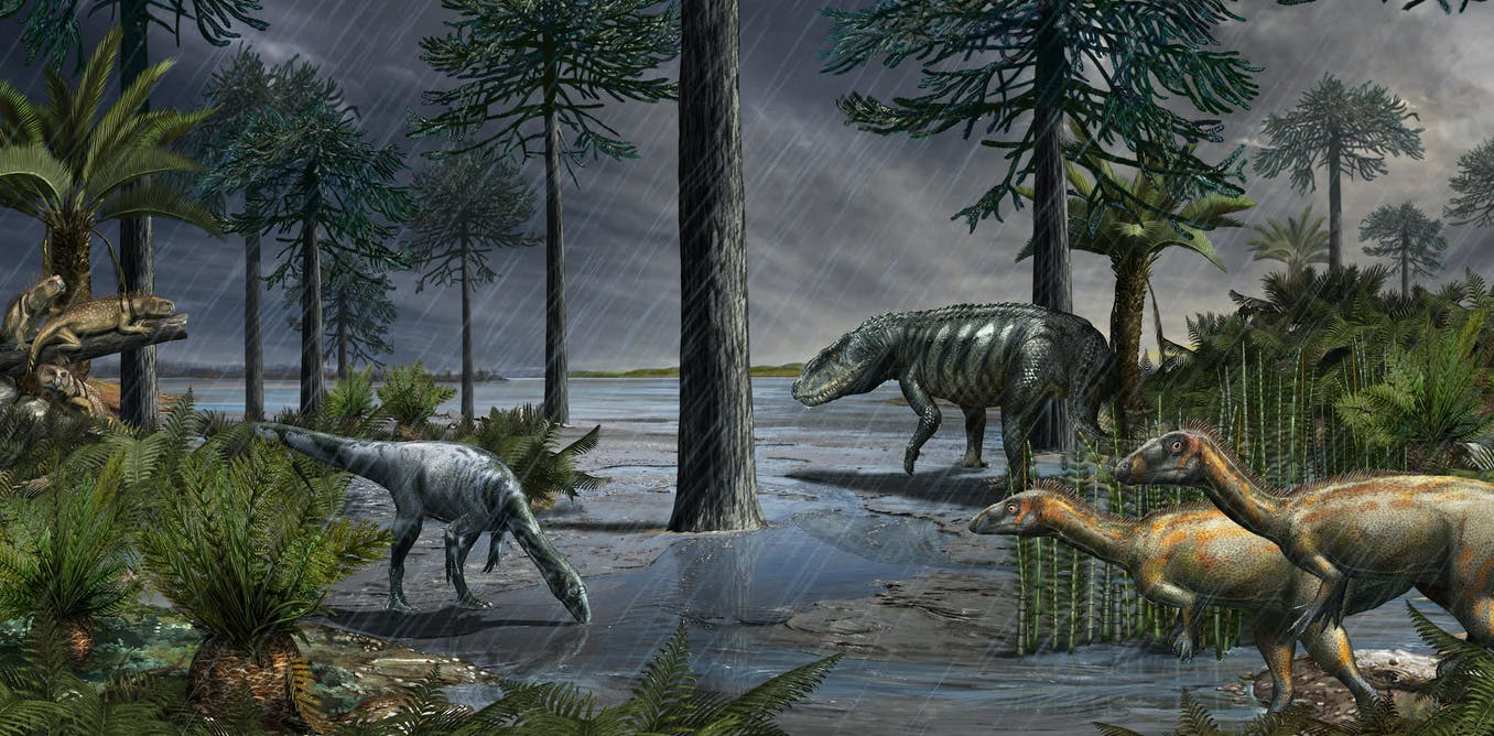 Newly discovered mass extinction event triggered the dawn of the dinosaurs