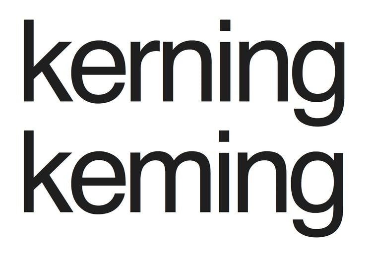 Kerning Spacing Leading The Invisible Art Of Typography