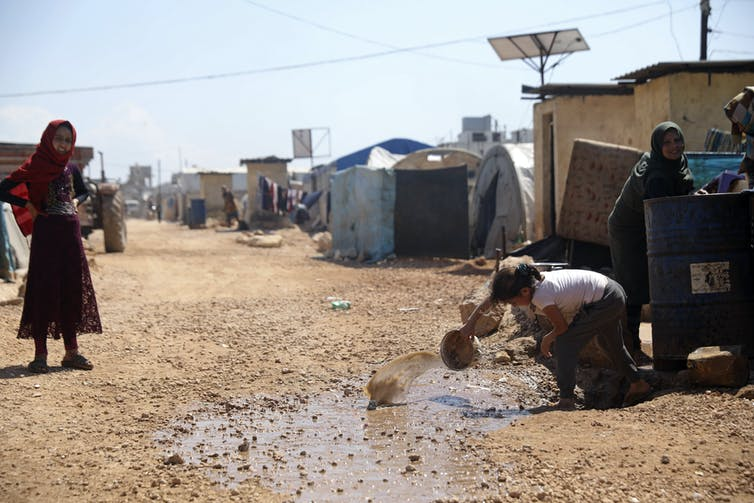 In war-torn Syria, the coronavirus pandemic has brought its people to the brink of starvation