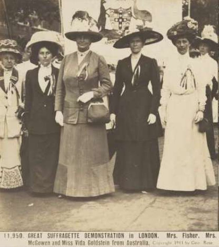 Suffragists in London, 1911