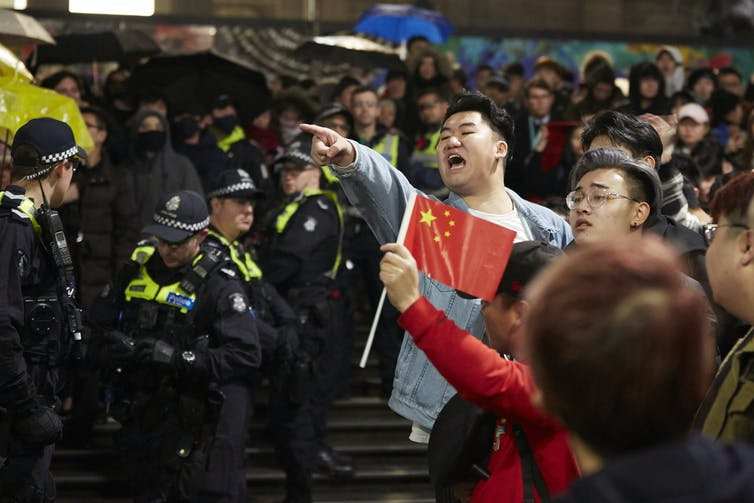 Pro-China nationalists are using intimidation to silence critics. Can they be countered without stifling free speech?