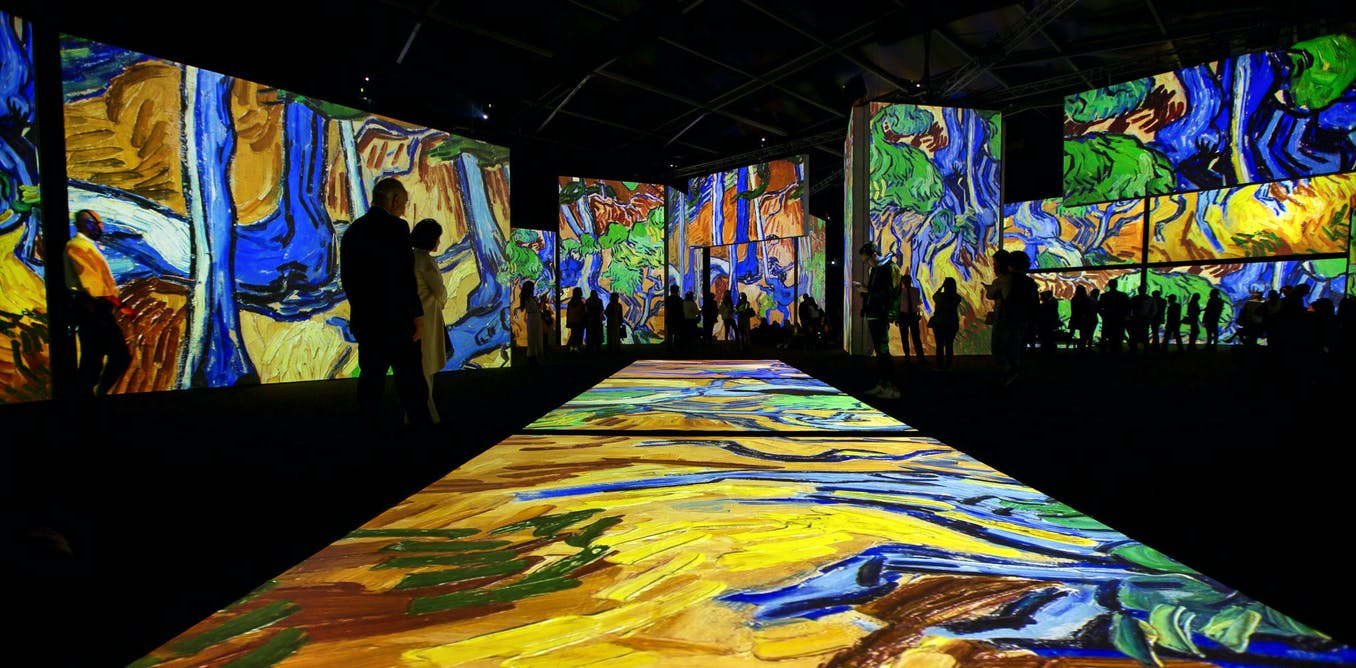 What does an unforgettable, multi-sensory experience have to do with Vincent van Gogh?
