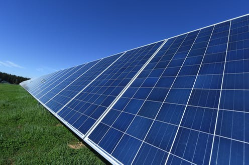 A collection of solar panels