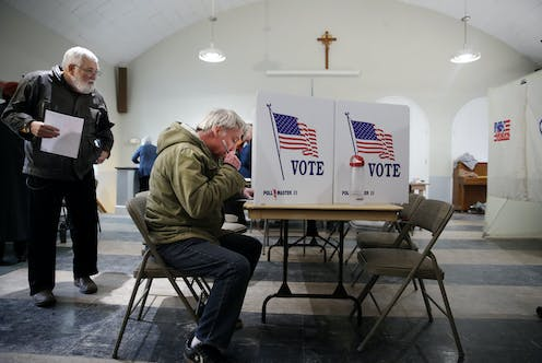 Voting while God is watching – does having churches as polling stations sway the ballot?
