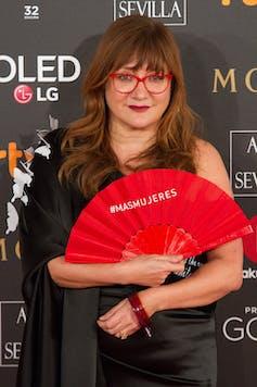 Isabel Coixet durante la ceremonia de los Premios Goya de 2018. Wikimedia Commons / Carlos Delgado, CC BY-SA