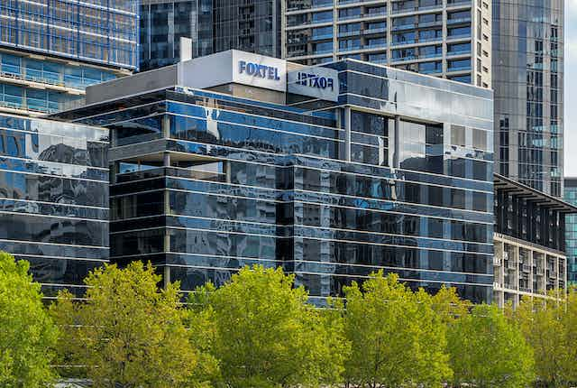 Foxtel offices in Melbourne