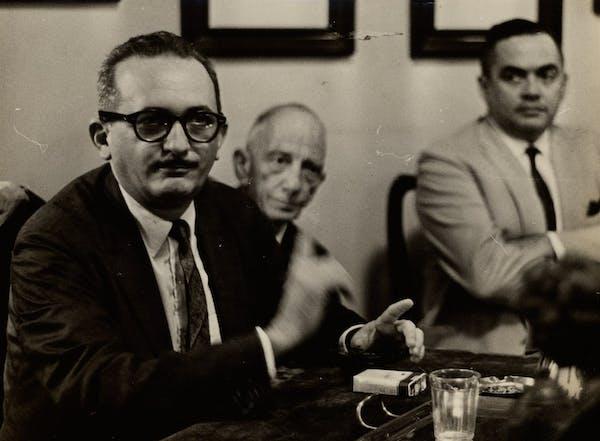 Paulo Freire em 1963. Foto: Correio da Manhã