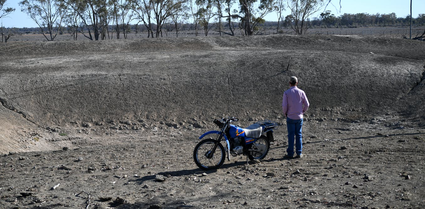 We looked at 35 years of rainfall and learnt how droughts start in the Murray-Darling Basin
