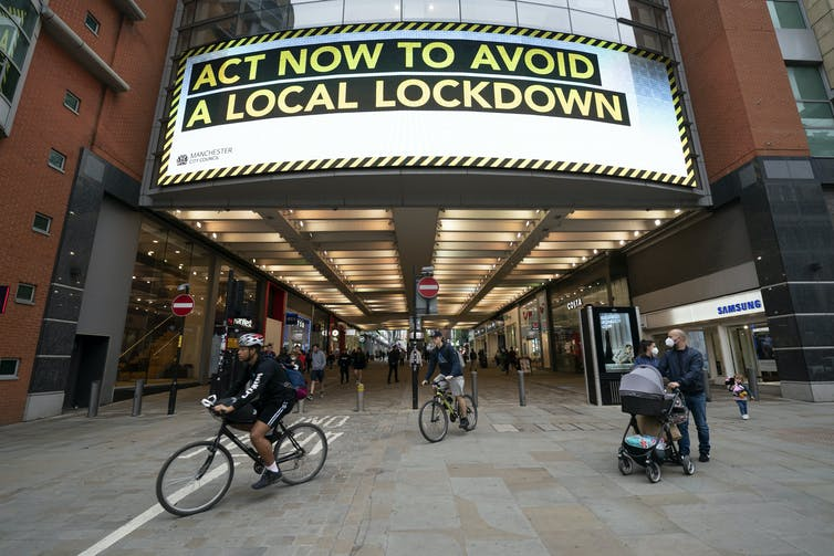 Sign, 'act now to avoid a lock lockdown'