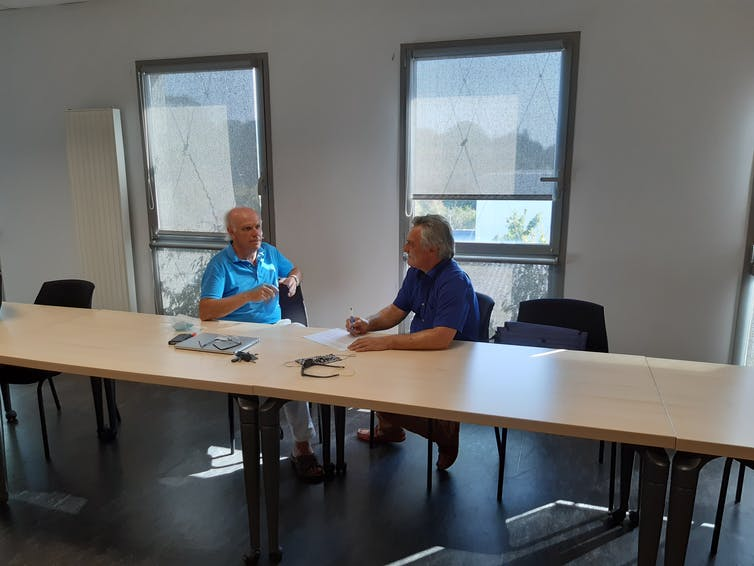 Conversation avec Frantz Rowe à l'IAE de Nantes