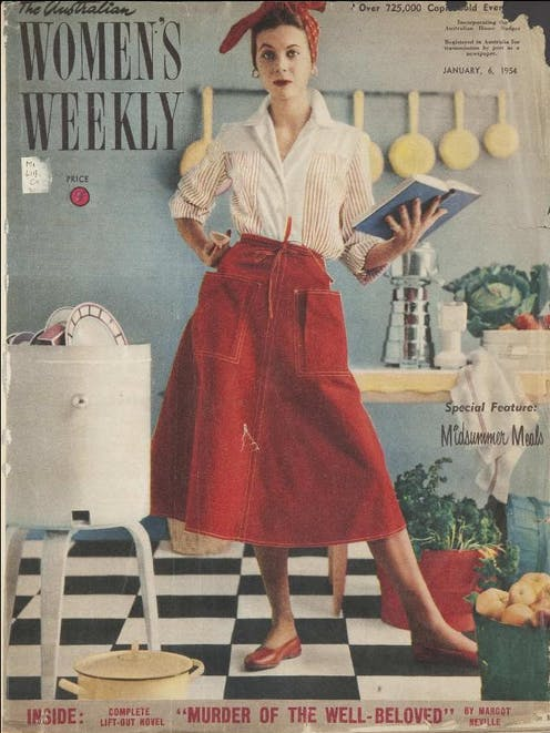 The Australian Women's Weekly cover, 1954