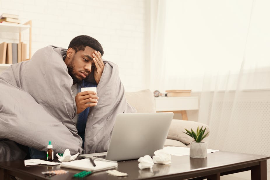 remote work options, Work From Home Options - Less Sickness And Less Absence