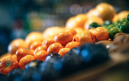 Tangerines and limes