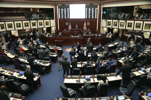 The Florida House of Representatives.