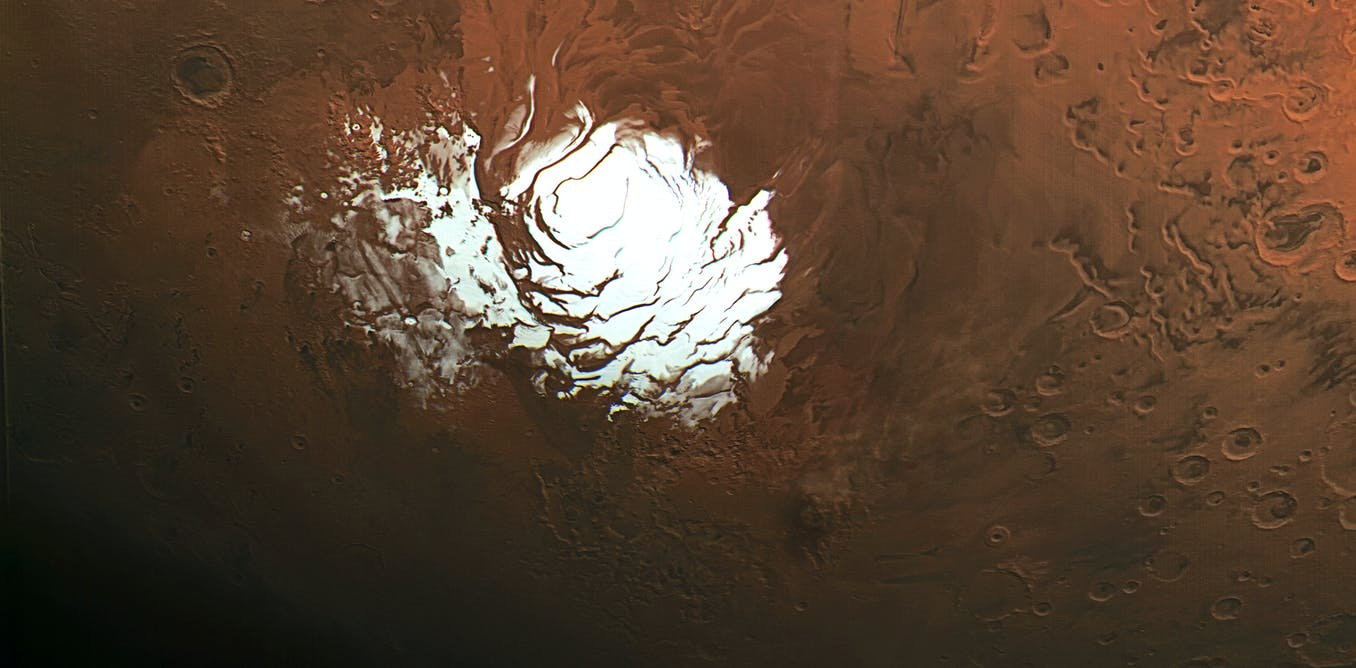 Buried lakes of salty water on Mars may provide conditions for life