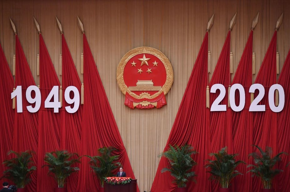 Li Keqiang prononce un discours