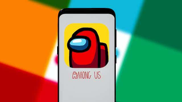 pantalla del videojuego Among Us
