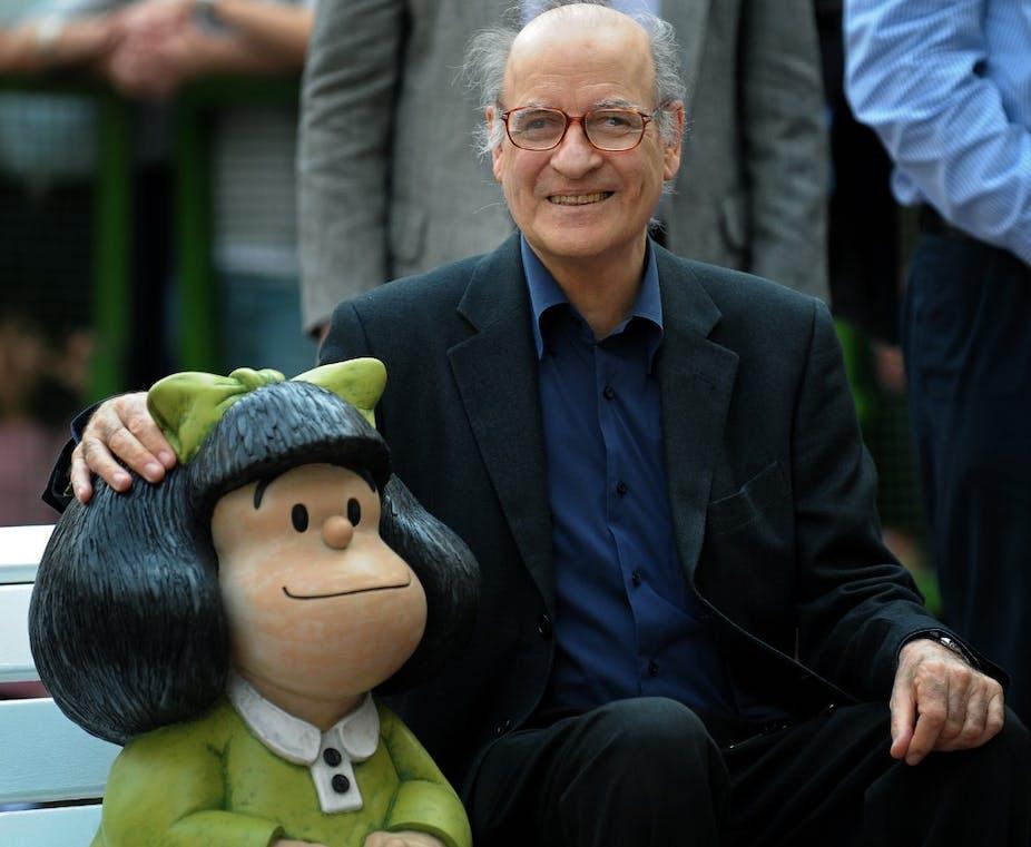 Joaquin Salvador Lavado, plus connu sous le nom de Quino, dessinateur de Mafalda est décédé le 30 septembre 2020.