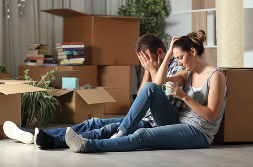 Couple upset about having to move out of house