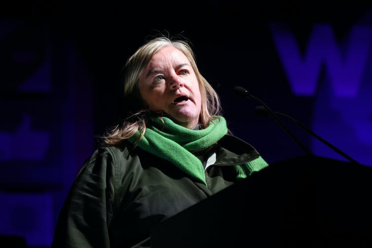 Dame Louise Casey speaking at an event