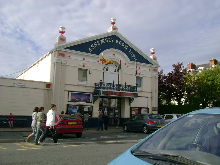 Old Independent Cinema in Wales.