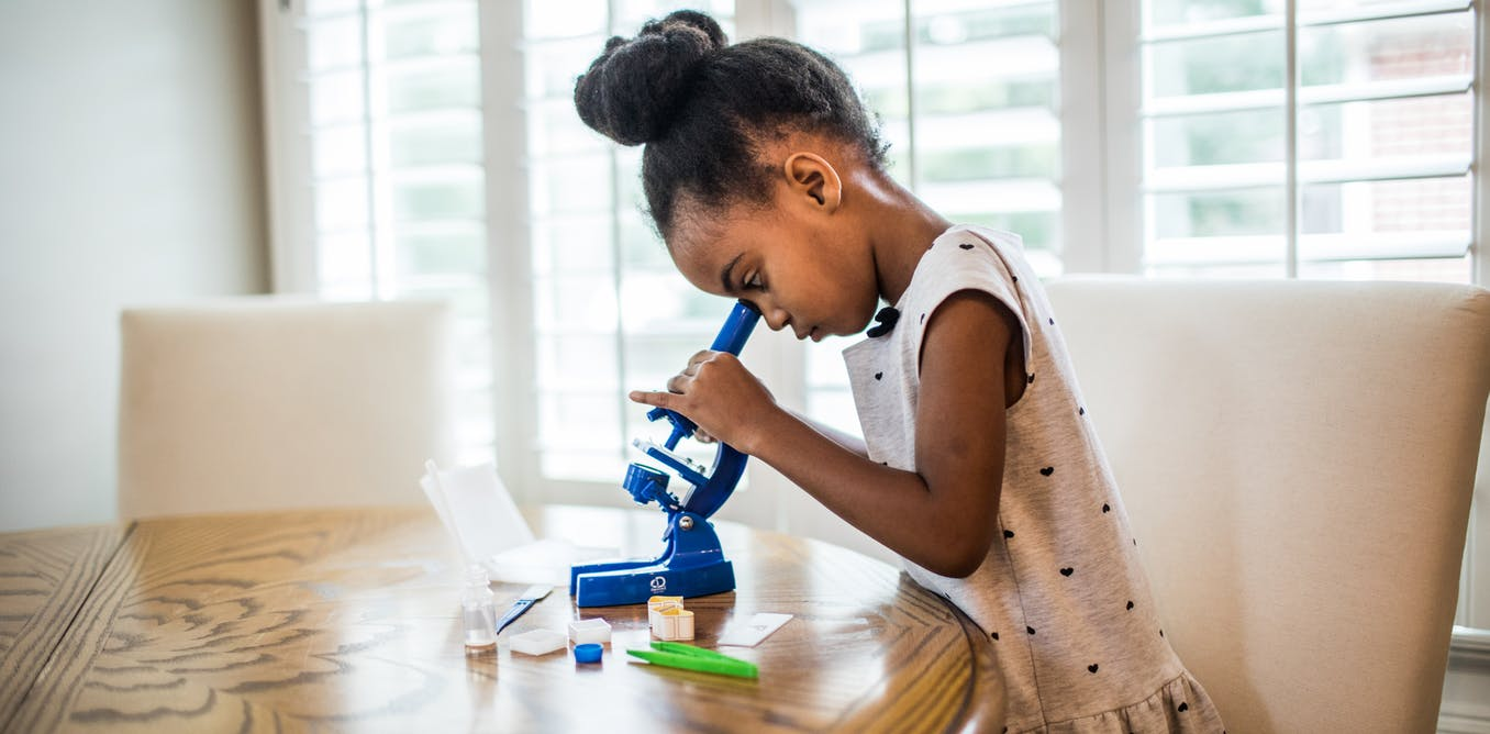 Getting kids – and their caregivers – to practice STEM at home