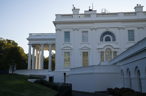 A view of the White House