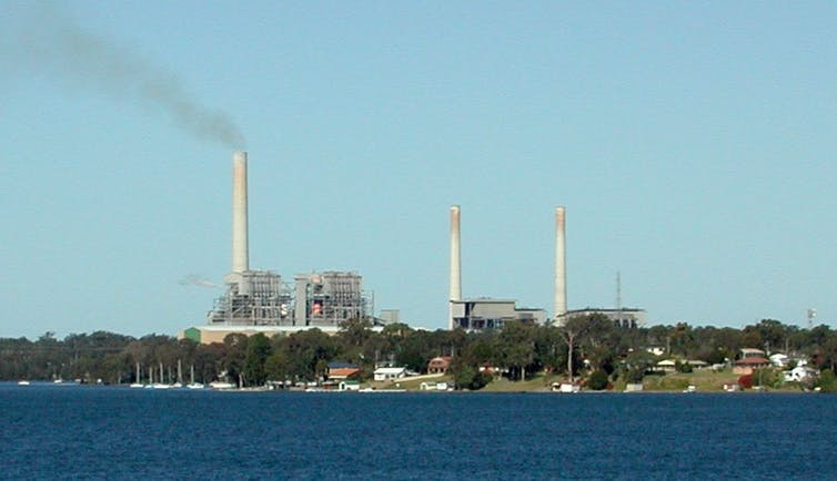 Vales Point coal plant