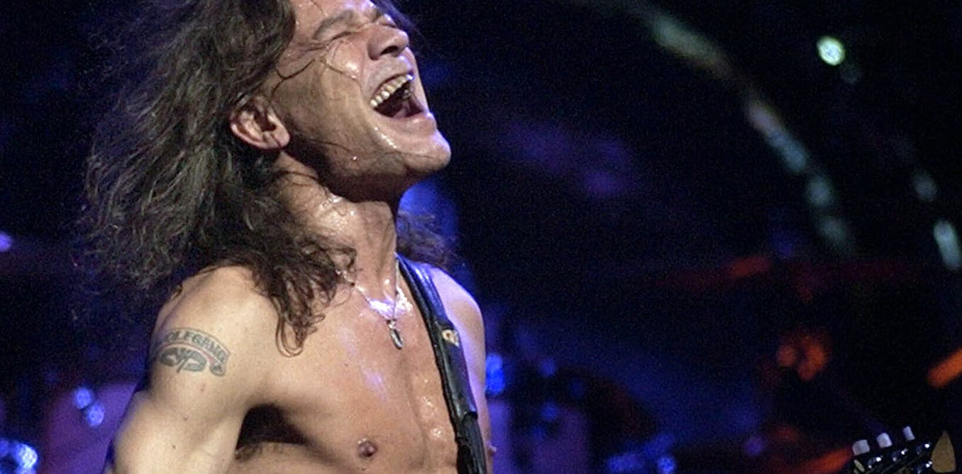 With his signature guitar style, Eddie Van Halen changed rock music