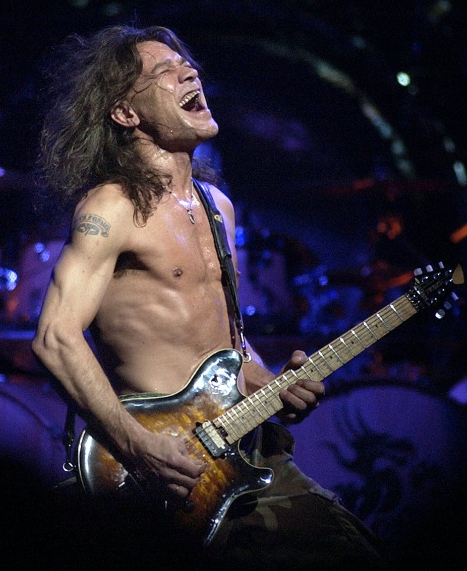 With his signature guitar style, Eddie Van Halen changed rock music