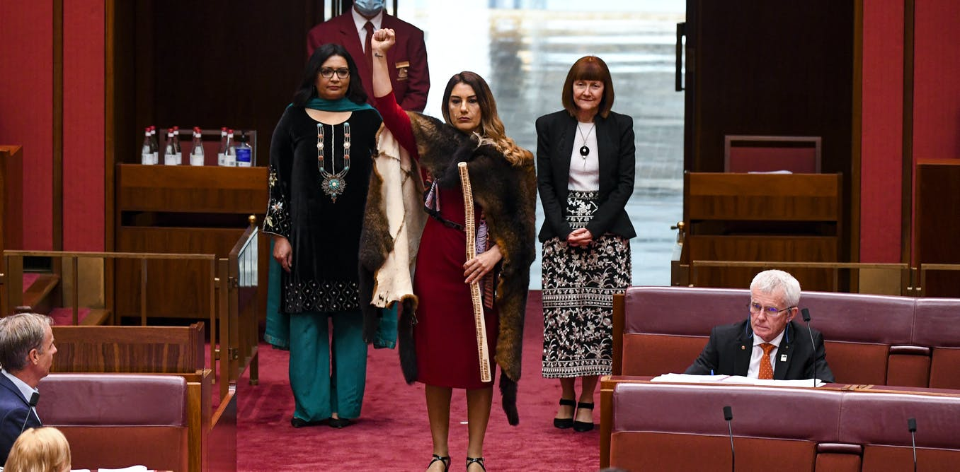 What are message sticks? Senator Lidia Thorpe continues a long and powerful diplomatic tradition