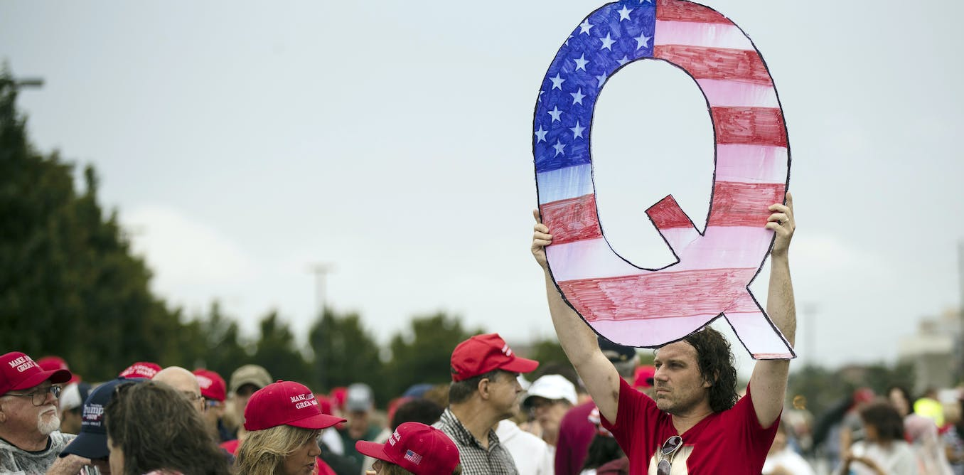 Facebook is removing QAnon pages and groups from its sites, but critical thinking is still the best way to fight conspiracy theories