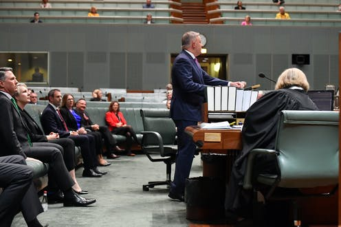Anthony Albanese, speaking in the House of Representatives