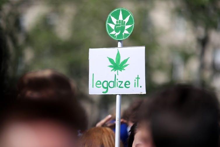 la 15e Marche mondiale pour le cannabis, qui appelle à la légalisation de la marijuana