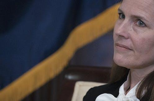 Seventh U.S. Circuit Court Judge Amy Coney Barrett is President Trump's nominee for the U.S. Supreme Court.