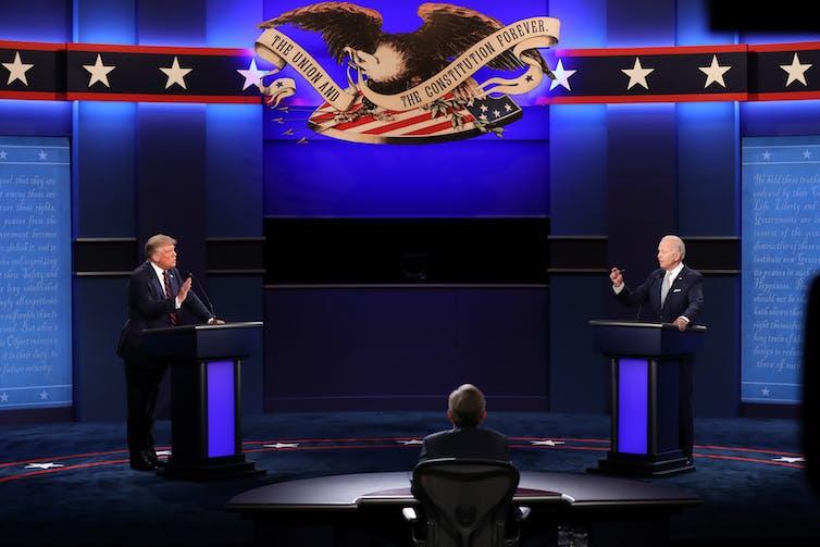 presidential candidates debating