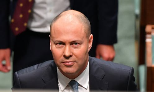 Treasurer Josh Frydenberg after handing down his second Federal Budget in the House of Representatives at