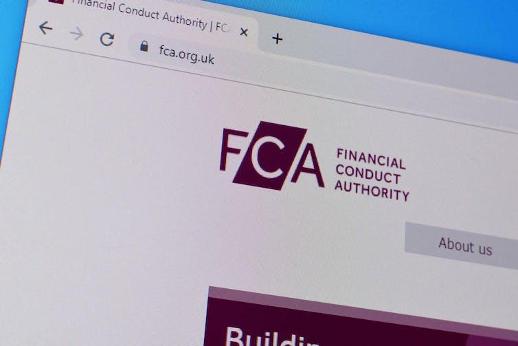 Halaman web FCA