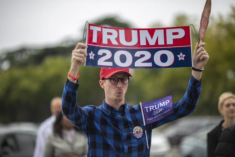 Les partisans du président Donald Trump