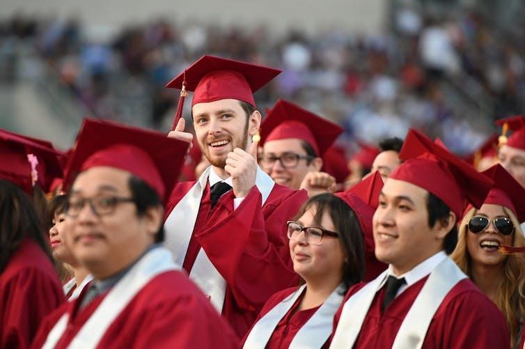 Les étudiants diplômés du Pasadena City College