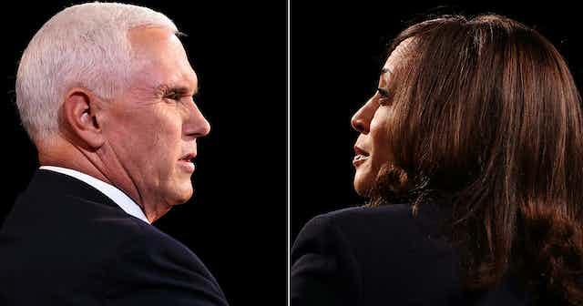 Vice President Mike Pence and Democratic vice presidential nominee, Sen. Kamala Harris
